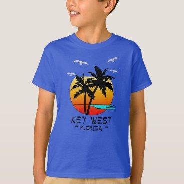 Beach Themed KEY WEST FLORIDA TROPICAL DESTINATION T-Shirt