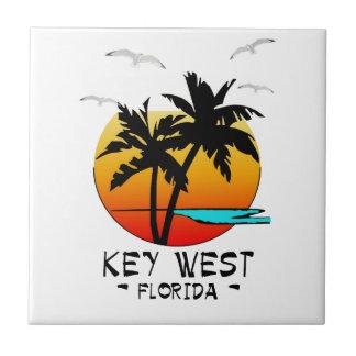 KEY WEST FLORIDA TROPICAL DESTINATION TILE