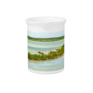 key west florida turquoise water island beaches beverage pitcher