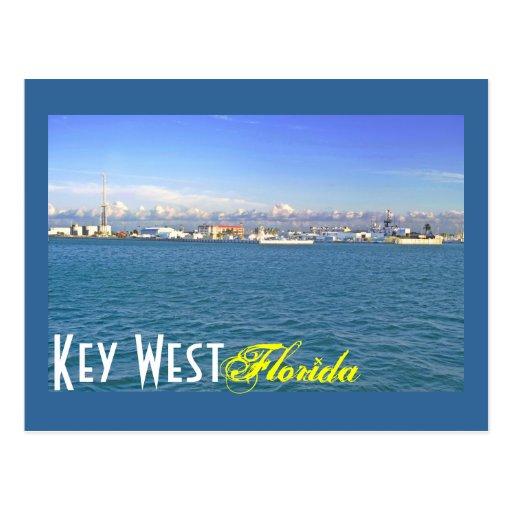 Key West, Florida, U.S.A. Postcard