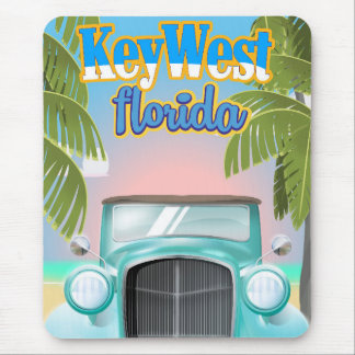 Key West, Florida USA vintage travel poster Mouse Pad