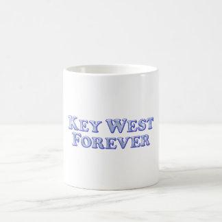 Key West Forever - Bevel Basic Classic White Coffee Mug