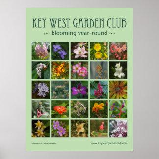 Key West Garden Club poster