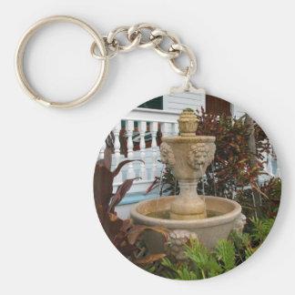 Key West Garden Fountain Key Chain