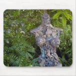 Key West Garden Sculpture Mousepad