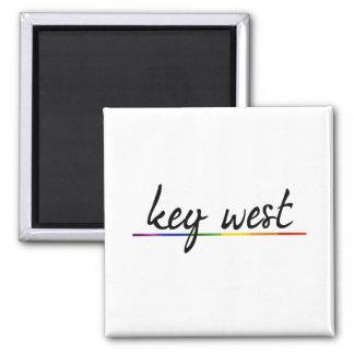 KEY WEST GAY PRIDE -.png Refrigerator Magnet