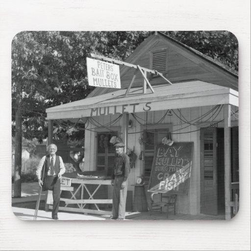 Key West hostiga la tienda, los años 30 Alfombrilla De Ratón