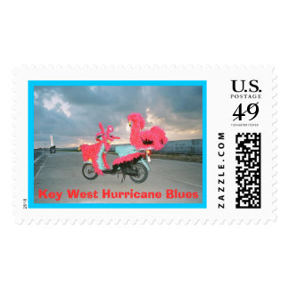 Key West Hurricane Blues Postage Stamp
