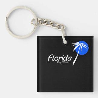 Key West island Straits of Florida Keychain