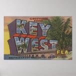Key West, la Florida - escenas grandes de la letra Impresiones