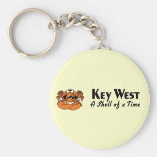 Key West la Florida Llavero Redondo Tipo Pin