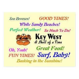 Key West la Florida Postal