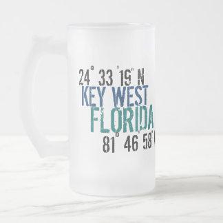 Key West Latitude Mugs
