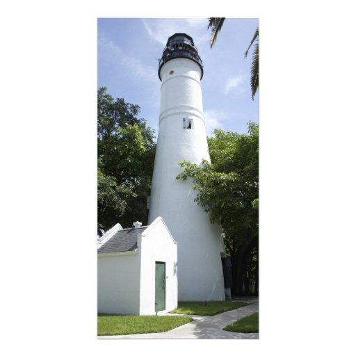 Key West Light Photo Card