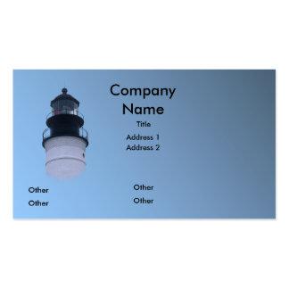 Key West Lighthouse Business Card