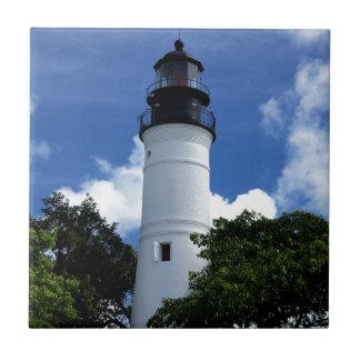 Key West Lighthouse Ceramic Tile