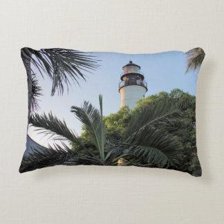 Key West Lighthouse, Florida Accent Pillow