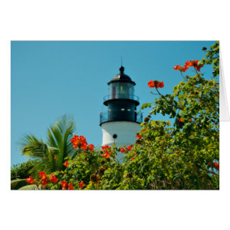 Key West LIghthouse, Florida Blank Card