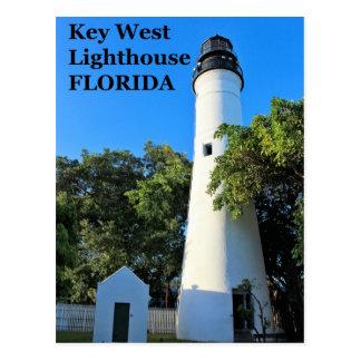 Key West Lighthouse, Florida Postcard