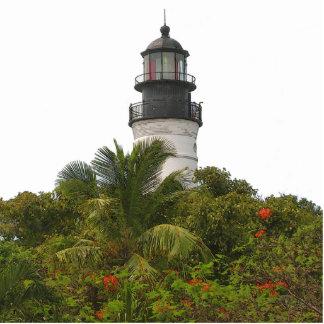 Key West Lighthouse photo sculpture