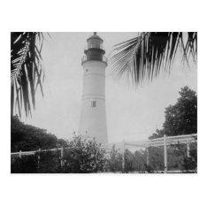 Key West Lighthouse Postcard at Zazzle