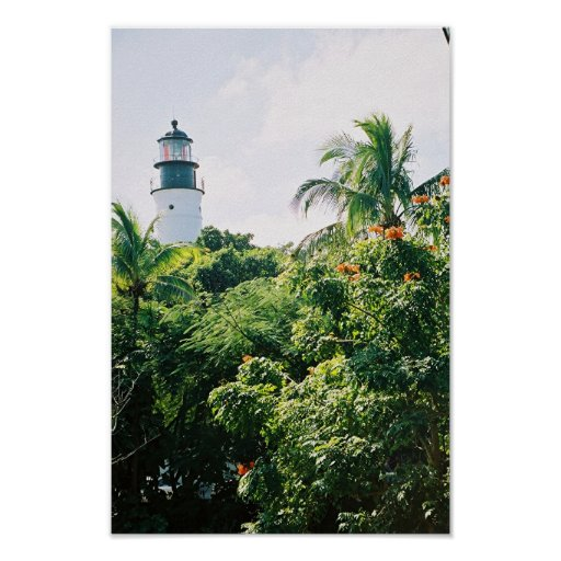 Key West Lighthouse - Poster & Print