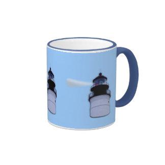 Key West  Lighthouse Ringer Coffee Mug