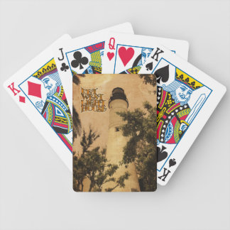 Key West Lighthouse Vintage Photo Bicycle Playing Cards