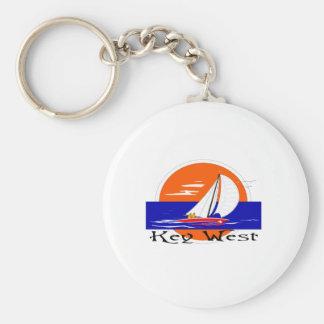 Key West Llavero Redondo Tipo Pin