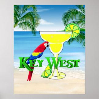 Key West Margarita Póster