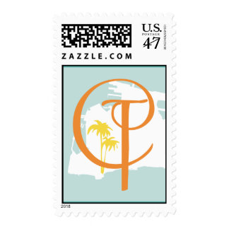 Key West Medium Vertical Stamp