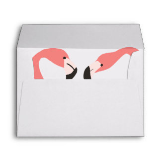 Key West Modern Whimsy Self-Addressed Envelope