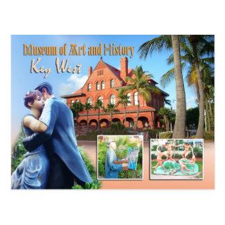 Key West Museum of Art History Key West FL Postcards