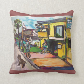 Key West Painting #1 Throw Pillow