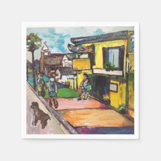 Key West Painting Napkin