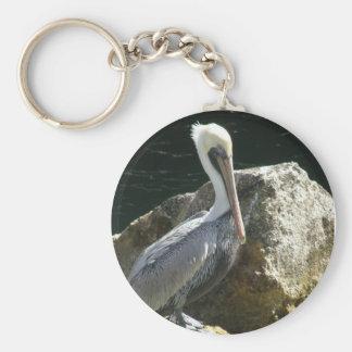 Key West Pelican Keychain