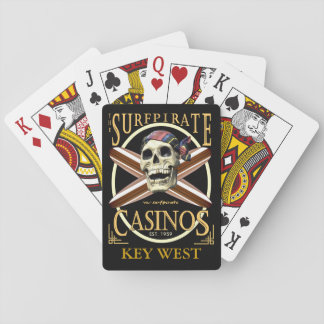 KEY WEST PIRATE POKER PLAYING CARDS