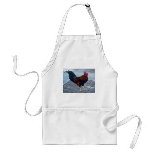 Key West Rooster Adult Apron