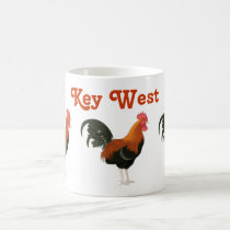 Key West Roosters Florida Chicken Animals Coffee Mug