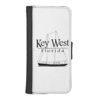 Key West Sailing iPhone SE/5/5s Wallet Case
