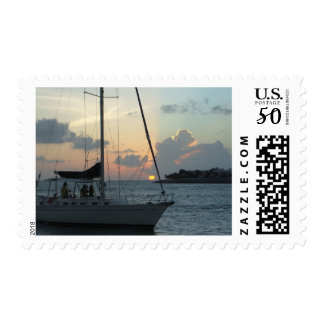 Key West sailing stamp (h)