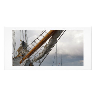 Key West Ship Photo Card