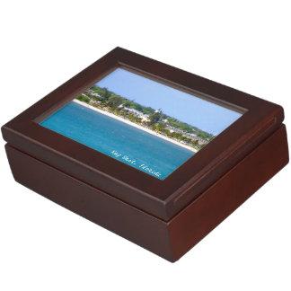 Key West Shoreline Keepsake Box