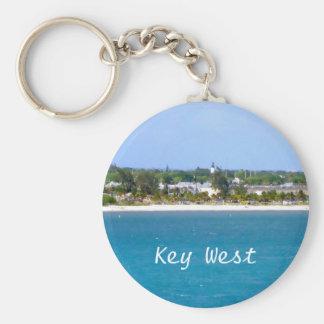 Key West Shoreline Keychain
