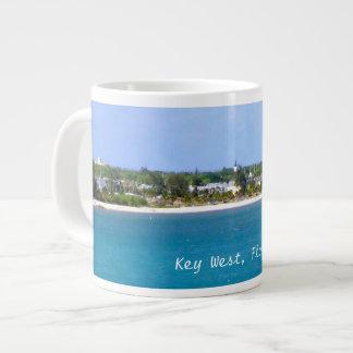 Key West Shoreline Large Coffee Mug