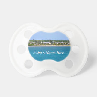 Key West Shoreline Personalized Pacifier