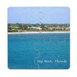 Key West Shoreline Puzzle Coaster
