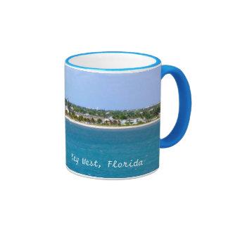 Key West Shoreline Ringer Mug