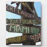 Key West Signs Plaque