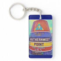 Key West Southernmost Point Keychain